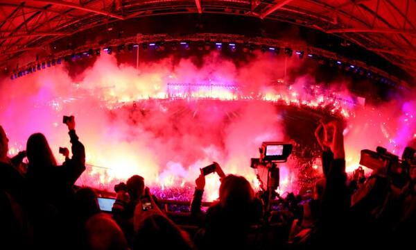 Super League: Πρόστιμο 35.000 ευρώ στον ΠΑΟΚ για τη φιέστα