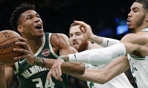 NBA: Απίθανος Αντετοκούνμπο και break για Μπακς! (video+photos)