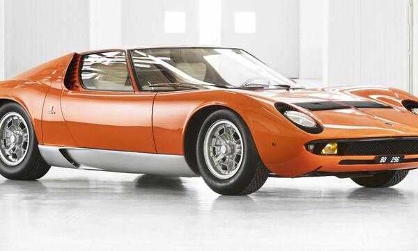 H Lamborghini Miura του «Italian Job» βρέθηκε και πλέον γυαλίζει