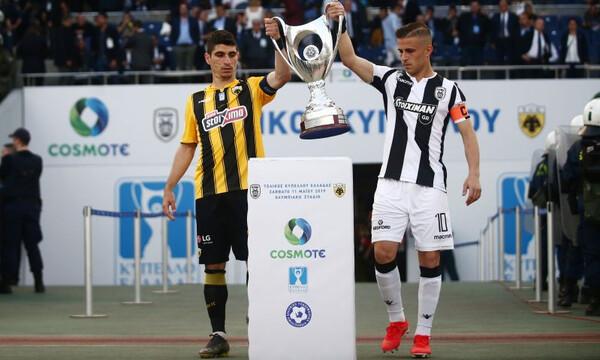 ΠΑΟΚ – ΑΕΚ: Πέλκας και Μάνταλος έφεραν το Κύπελλο (video+photos)