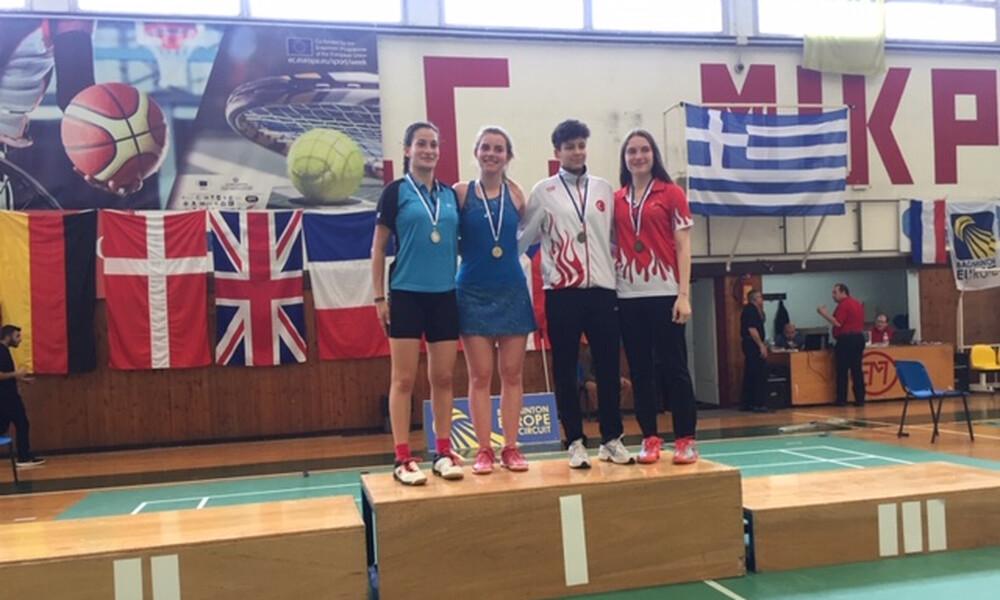Μπάντμιντον: Ασημένιο μετάλλιο η Σωτηρίου στο διεθνές τουρνουά U19