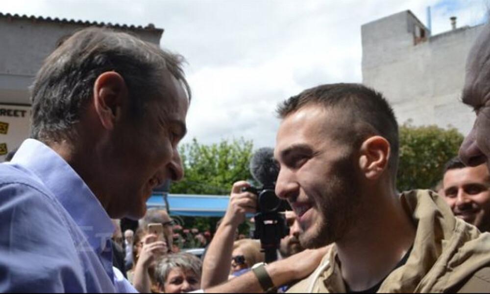 Συνάντηση Μητσοτάκη - Φορτούνη: η ατάκα του προέδρου της ΝΔ στον ποδοσφαιριστή