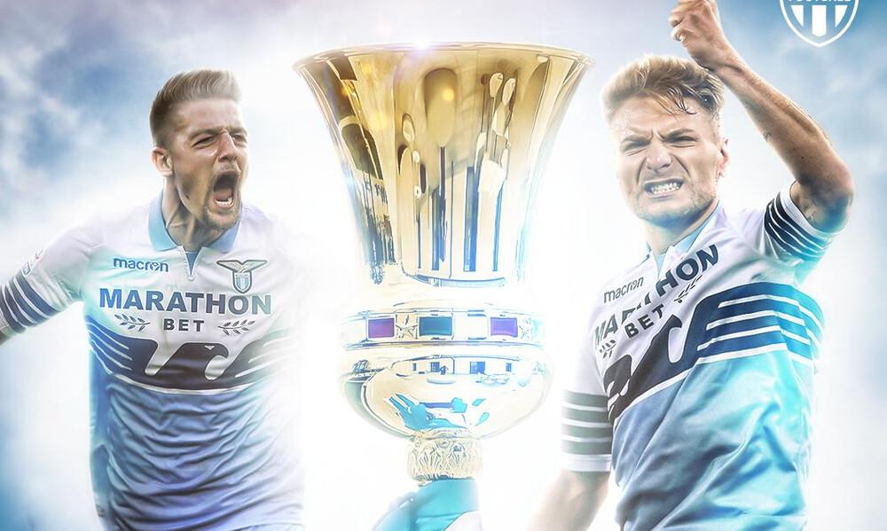 Ιταλία: Σήκωσε το Κύπελλο η Λάτσιο (photos+video)