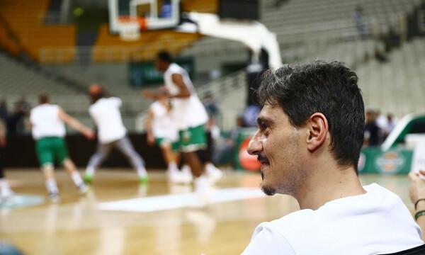 Παναθηναϊκός ΟΠΑΠ – Ολυμπιακός: Στο ΟΑΚΑ ο Δημήτρης Γιαννακόπουλος (video+photo)