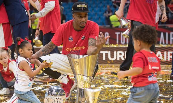 Στην ΤΣΣΚΑ Μόσχας και τη νέα σεζόν ο MVP του Final Four, Ουίλ Κλάιμπερν!