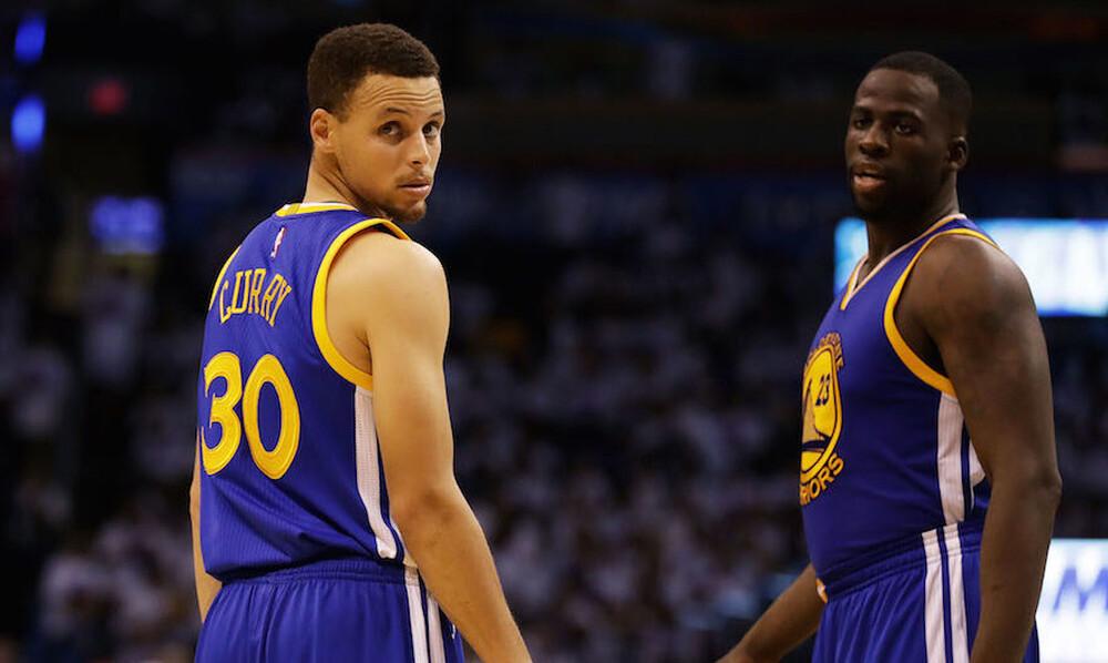 NBA: Ιστορία έγραψαν Γκριν και Κάρι (video+photos)