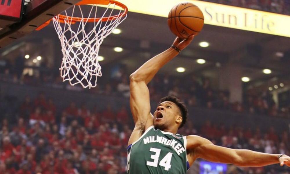 NBA: Οι καλύτερες στιγμές του Γιάννη Αντετοκούνμπο στο Game 4 (video+photos)