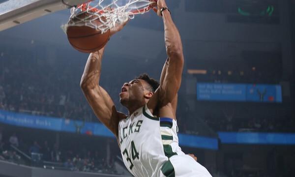 NBA: Κυριαρχεί στο Top-5 ο Γιάννης (photos+video)
