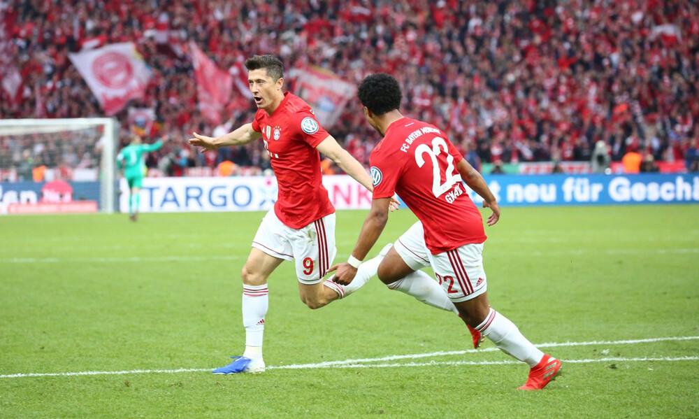 Κύπελλο Γερμανίας: Με «περίπατο» επέστρεψε στην κορυφή η Μπάγερν (video+photos)