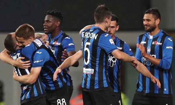 Serie A: «Σεντόνι» για Αταλάντα και Ίντερ (videos)