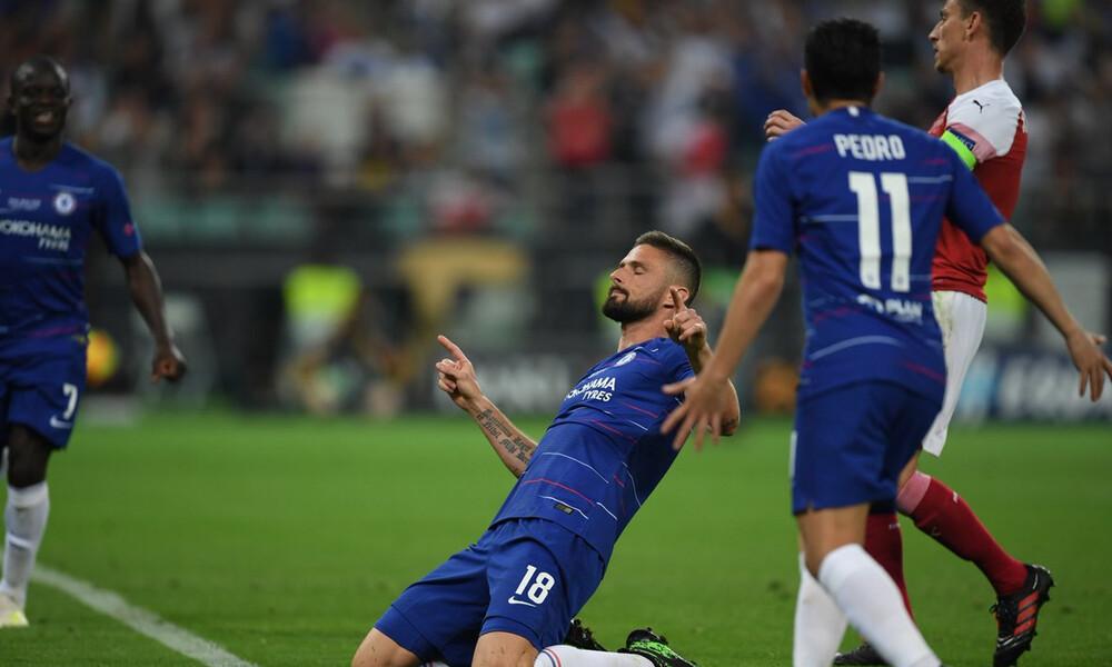 Τελικός Europa League: Τριπλό «χτύπημα» με Ζιρού, Πέδρο και Αζάρ η Τσέλσι! (videos)