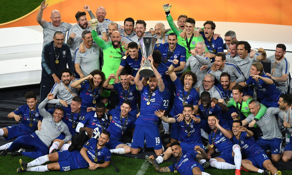 Europa League: Οι πανηγυρισμοί της Τσέλσι και τα δάκρυα στην Άρσεναλ (videos)