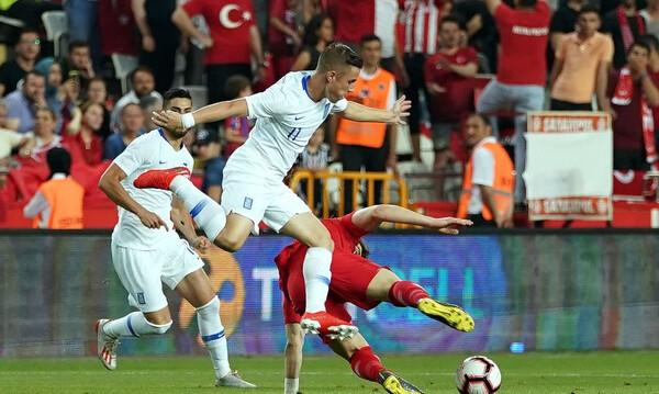 Τουρκία – Ελλάδα: Τα γκολ των γηπεδούχων και το δοκάρι του Σάμαρη (videos)
