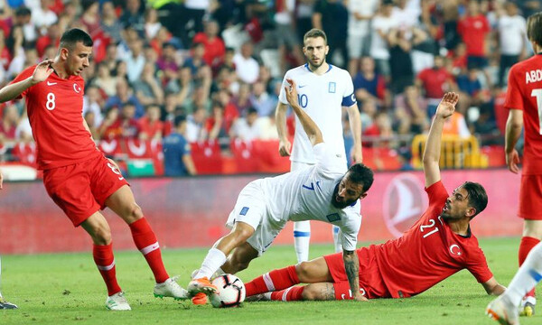 Τουρκία - Ελλάδα 2-1: Τα highlights του αγώνα (video)