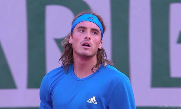 Roland Garros: Αυτός είναι ο αντίπαλος του Τσιτσιπά στη φάση των «16»