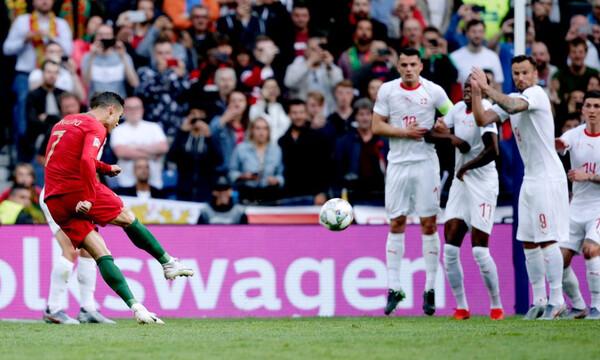 Μυθικός Κριστιάνο Ρονάλντο, πήγε μόνος του την Πορτογαλία στον τελικό του Nations League