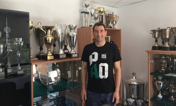 Για έκτη σερί χρονιά στον «πράσινο» πάγκο, ο Δημήτρης Ανδρεόπουλος!