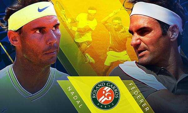 Φέντερερ – Ναδάλ: Τιτανομαχία στο Roland Garros (photos+videos)