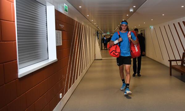 Προετοιμασία Στέφανου Τσιτσιπά ενόψει Wimbledon (video)
