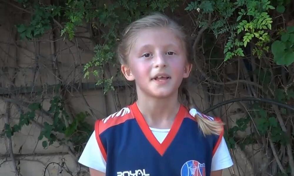 Η 8χρονη που μέσα σε 30 δευτερόλεπτα έδειξε τι είναι αθλητισμός (video)
