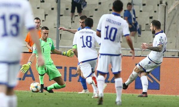 Ελλάδα - Αρμενία: Το τρίτο γκολ των φιλοξενούμενων (video)