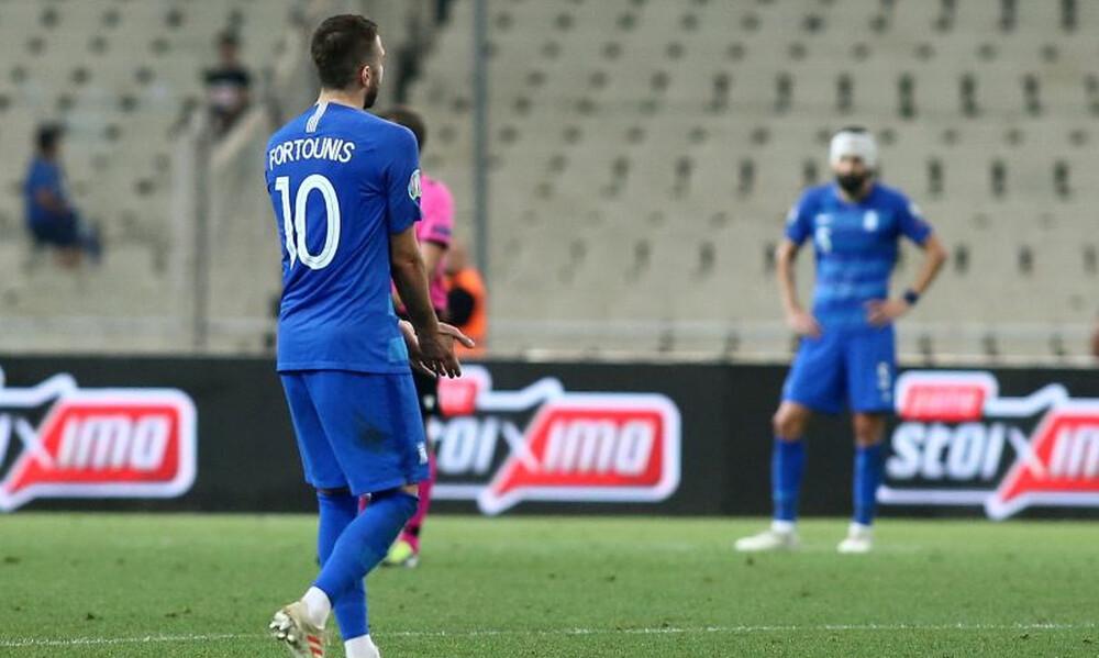 Ελλάδα – Αρμενία:  Το σλάλομ και το γκολ του Φορτούνη (video)