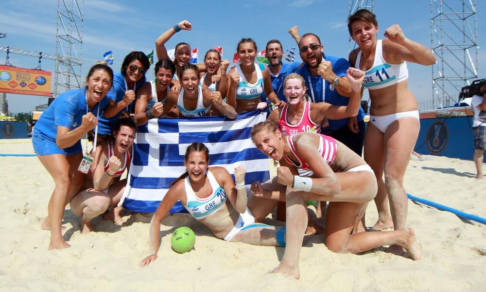 Επικεφαλής του ομίλου στο Beach Handball η Ελλάδα