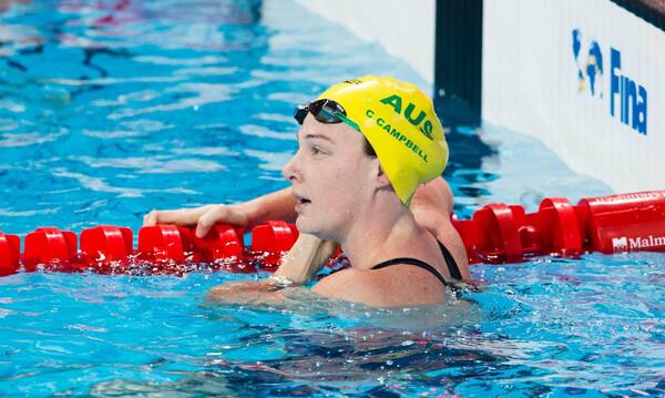 Κολύμβηση: Εντυπωσιακή η Κέτι Κάμπελ, 52.12 στα 100μ. ελεύθερο