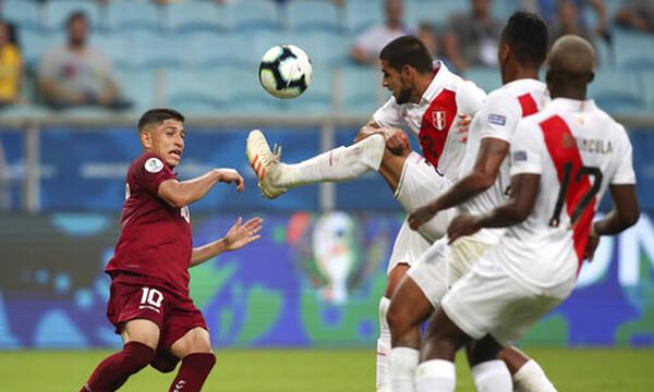Copa America: Στο μηδέν Βενεζουέλα και Περού (photos)