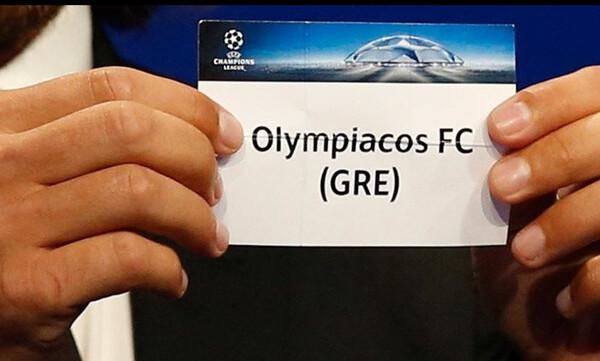 Αυτός είναι ο αντίπαλος του Ολυμπιακού στο Champions League