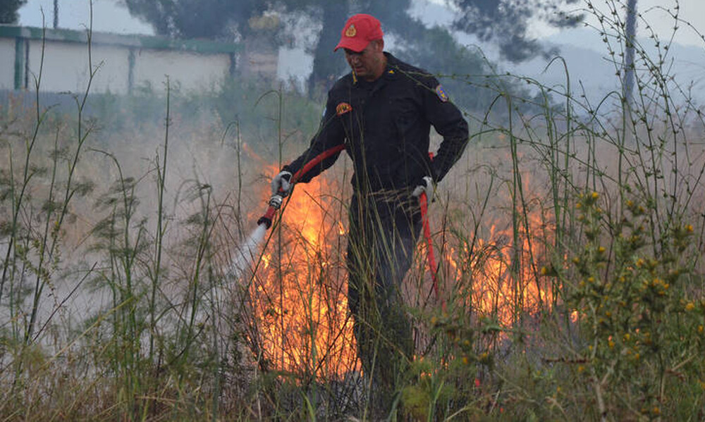 Πολύ υψηλός ο κίνδυνος για πυρκαγιά την Τρίτη