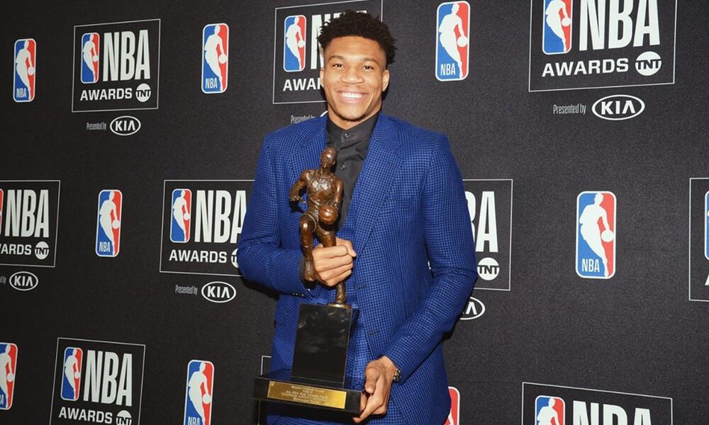 NBA: Ο Γιάννης Αντετοκούνμπο MVP! (photos)