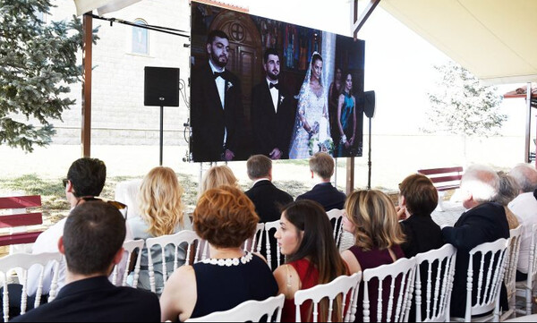 Γάμος με… άρωμα ΠΑΟΚ και Ηρακλή στην οικογένεια Σαββίδη (photos)