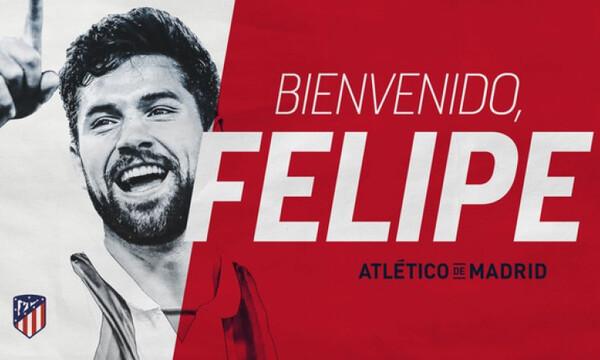 Ο Φελίπε και επίσημα στην Ατλέτικο (photos,videos)