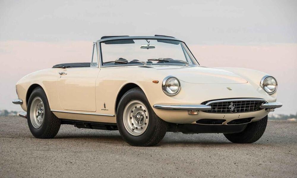 Όταν μιλάμε για κλασσική Ferrari, εννοούμε τη Spider του '69