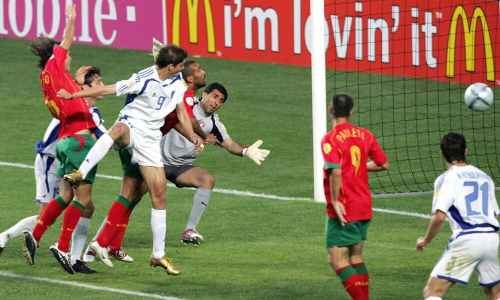 LIVE Streaming: «15 χρόνια Euro 2004»: Legends 2004-Portugal Legends (video)