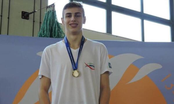 Κολύμβηση: Χάλκινο μετάλλιο ο Ασπουγαλής στα 50μ. πρόσθιο