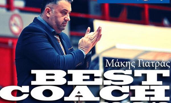 Ο Γιατράς προπονητής της χρονιάς στην Basket League