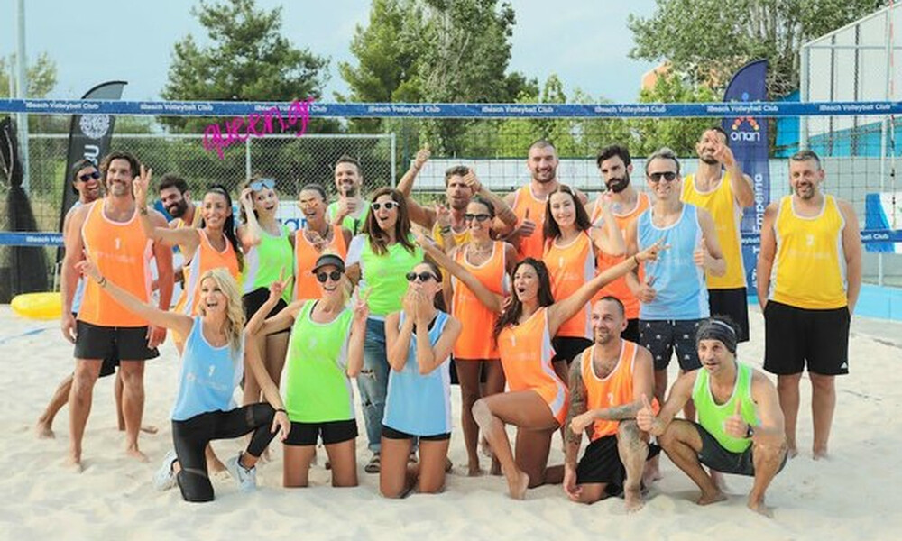 Όλα όσα έγιναν στον Celeb αγώνα Beach Volley της W.I.N. Hellas!!!