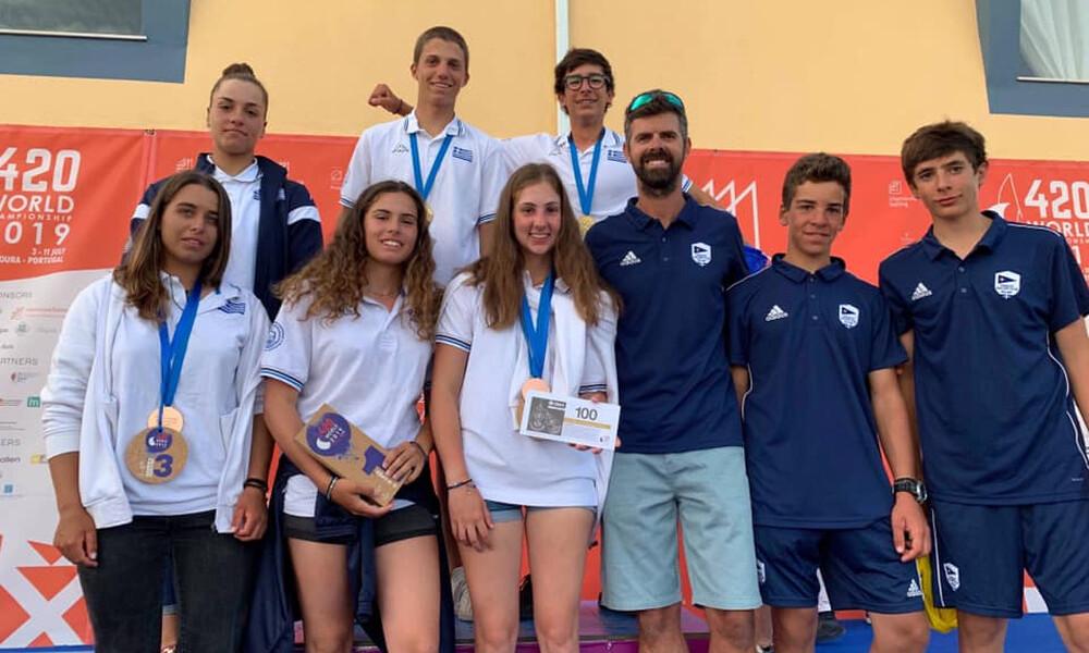 Παγκόσμιο 420: Χρυσό μετάλλιο οι Σπανάκης/Μιχόπουλος, χάλκινο οι Παππά/Τσαμοπούλου