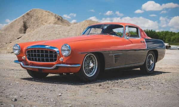 Επιτομ? του ιταλικο? design η Ferrari 375 MM