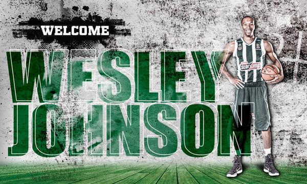Παναθηναϊκός ΟΠΑΠ: Και επίσημα... πράσινος ο Τζόνσον!