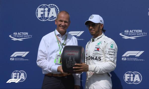Formula 1: Ο Χ?μιλτον στην pole position και στο Χ?κενχα?μ
