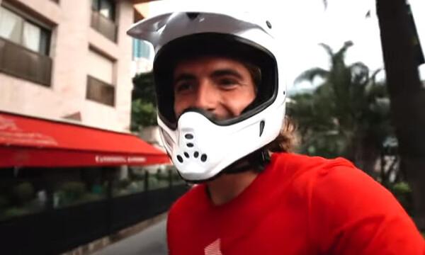 Στ?φανο? Τσιτσιπ??: Ε?δε τον… χ?ρο με τα μ?τια του στο Μονακ?! (video+photos)
