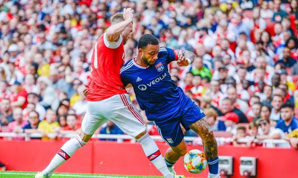 Η Λι?ν ν?κησε 2-1 την ?ρσεναλ στο Emirates Cup (video)
